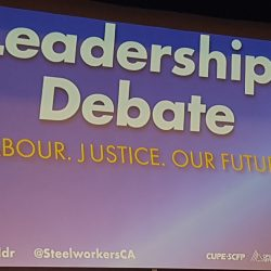 Labour sponsored leadership debate produces no champion!