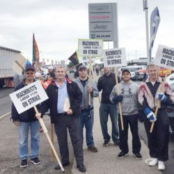 IAM Strike at Lakehead Motors is over!