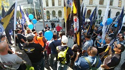 IAM joins rally to protest Boeing court battle with Bombardier