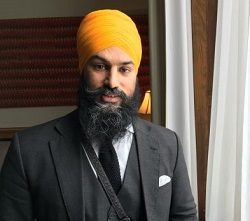 Machinists endorse Singh for NDP Leader