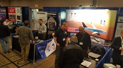 IAM booth a big hit at annual AME conference