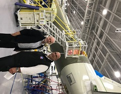 Aerospace Policy discussions highlight site visit!