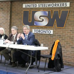 Pension Theft road show stops in Toronto