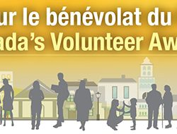 Submit a nomination now for Canada's Volunteer Awards!