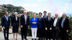 Will there be fireworks at the G-7 Summit?