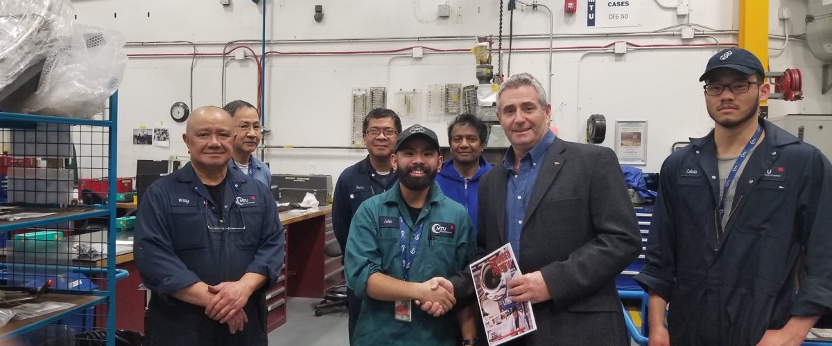 Pickthall unveils IAM National Aerospace Strategy in B.C.