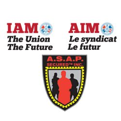40 new IAM members at A.S.A.P Secured Inc. at Montreal airport