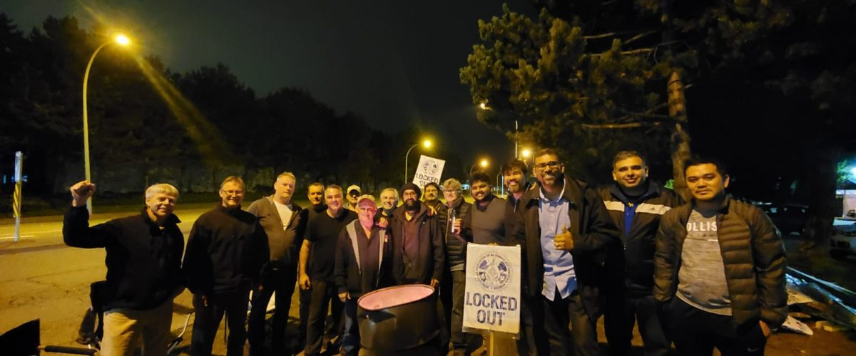 Avcorp lockout ends – IAM Local 11 wins big on contracting-out, other gains