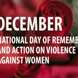 December 6: National Day of Remembrance and Action on Violence Against Women