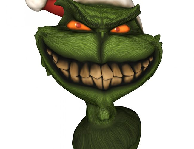 Weeks before Christmas, the Grinch Visits Vancouver Island