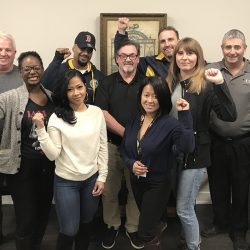 Young Machinists visit IAM Canadian Office, share vision of the union