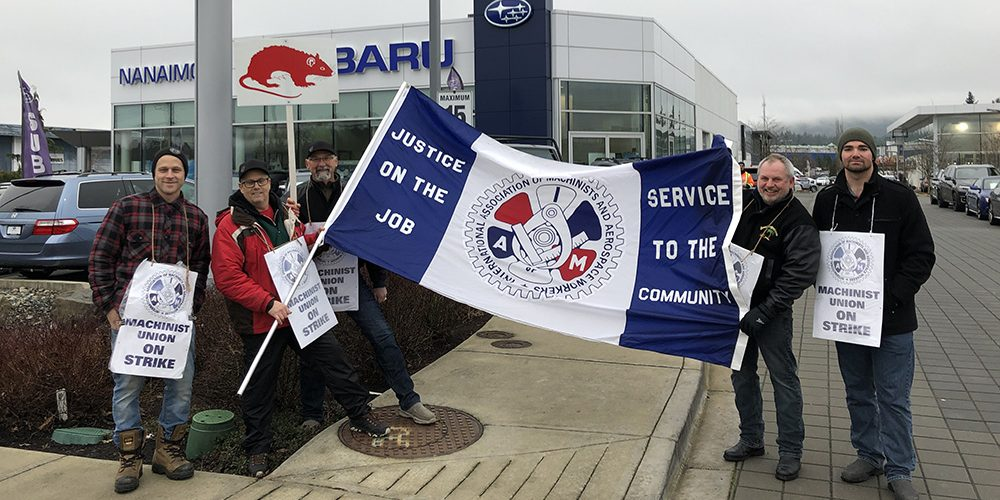 Long strike on Vancouver Island ends in settlement