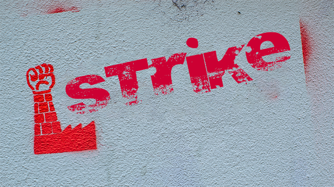 Strong strike mandate from IAM local 907