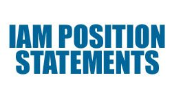 IAM Position Statements by Industry