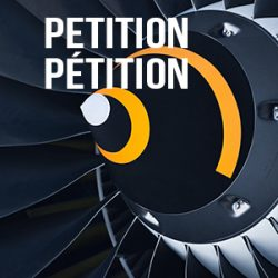 Sign the NDP petition to support the aviation industry