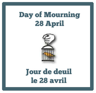 Day of Mourning for Person's Killed or Injured in the Workplace