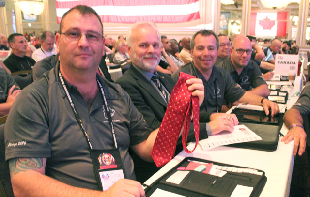 Grand Lodge Convention: Everyone wants a tie